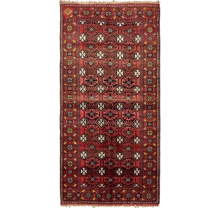 4' 10 x 9' 10 Shiraz Persian Runner Rug