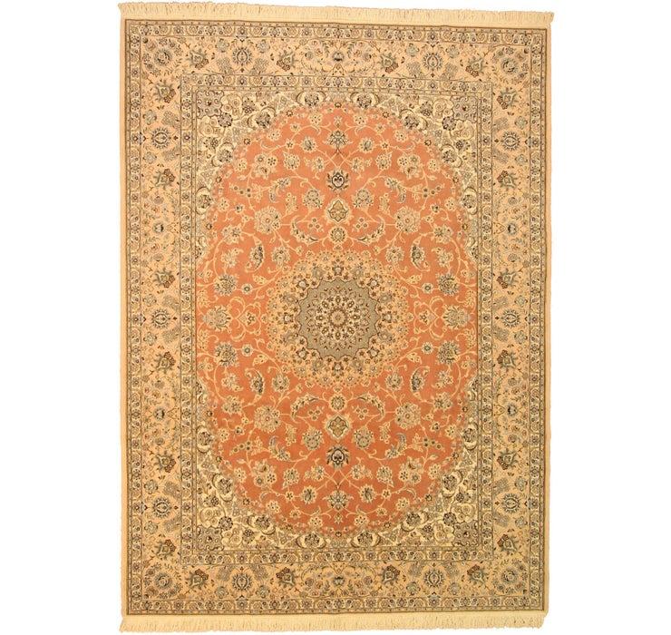 255cm x 348cm Nain Persian Rug