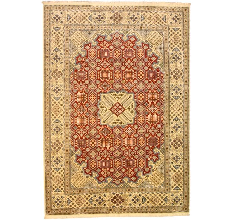 Image of 8' x 11' 4 Nain Persian Rug