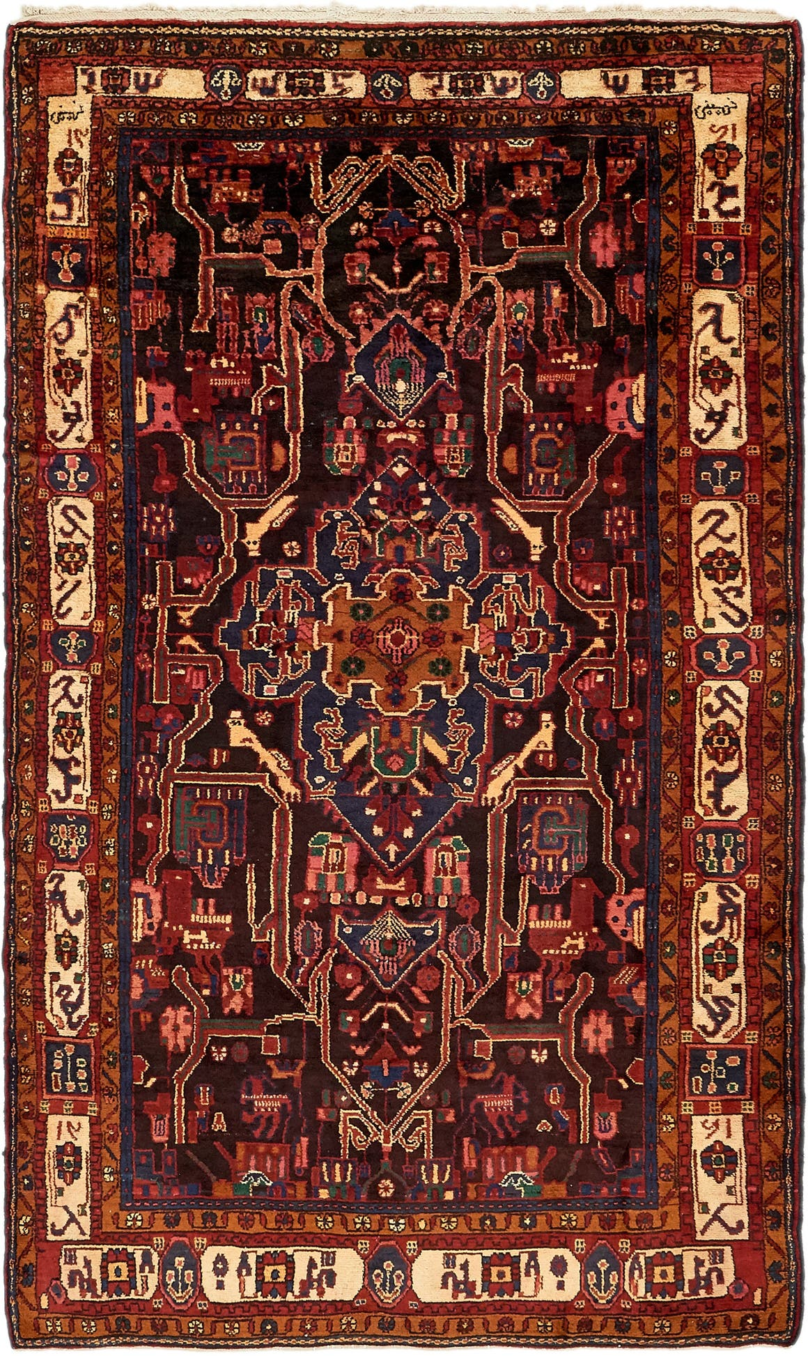 5' 3 x 9' 2 Nahavand Persian Rug main image