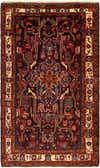 5' 3 x 9' 2 Nahavand Persian Rug thumbnail