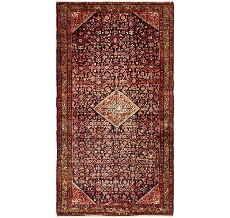 175cm x 318cm Hossainabad Persian Rug