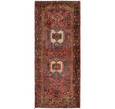 4' x 10' 2 Hamedan Persian Runner Rug main image