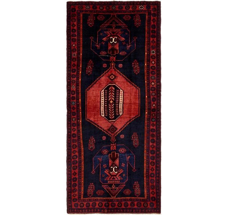 4' 8 x 11' 2 Sirjan Persian Runner Rug