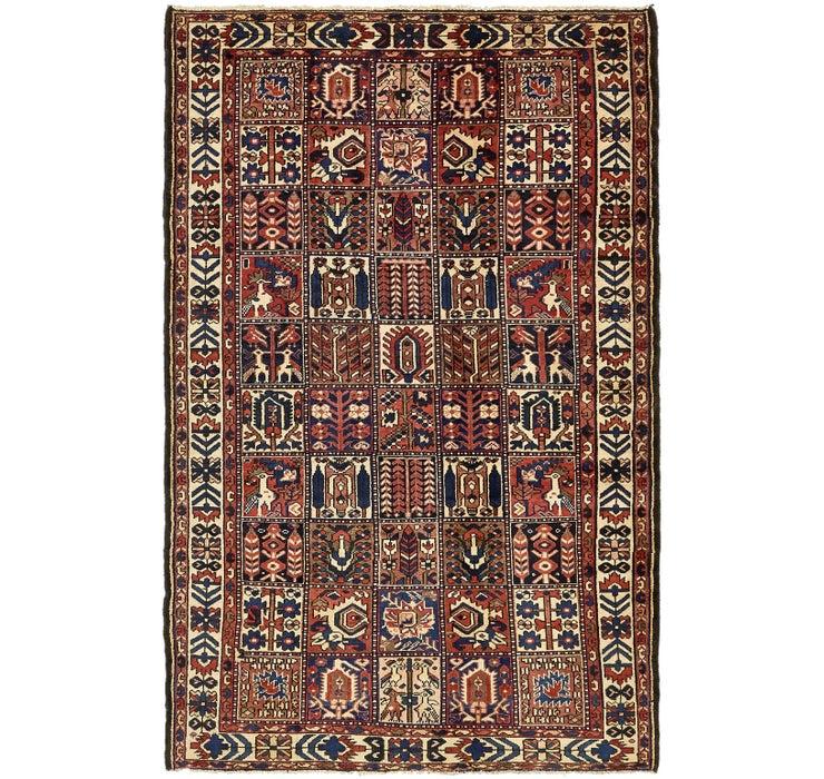 6' x 9' 6 Bakhtiar Persian Rug