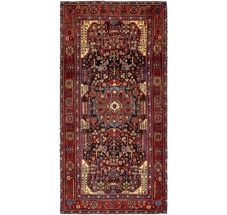 Image of 5' 8 x 11' Nahavand Persian Runner...