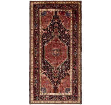 5' 3 x 11' Tuiserkan Persian Runne...