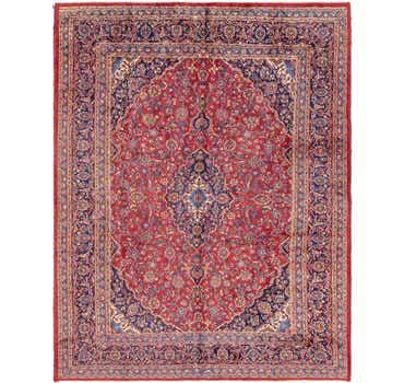 Image of 9' 6 x 12' 9 Mashad Persian Rug