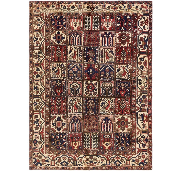 Image of 6' 10 x 9' 9 Bakhtiar Persian Rug