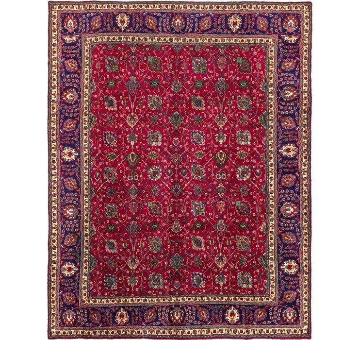 9' 10 x 12' 10 Tabriz Persian Rug