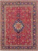 9' 10 x 13' 3 Tabriz Persian Rug thumbnail