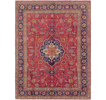 9' 10 x 13' 3 Tabriz Persian Rug main image