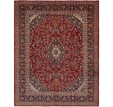 9' 10 x 12' 7 Mashad Persian Rug main image