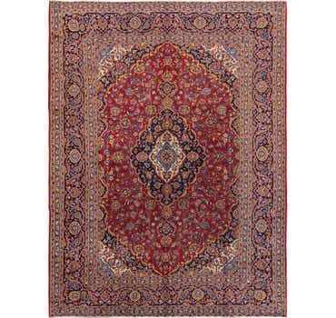 Image of 9' 9 x 12' 10 Kashan Persian Rug