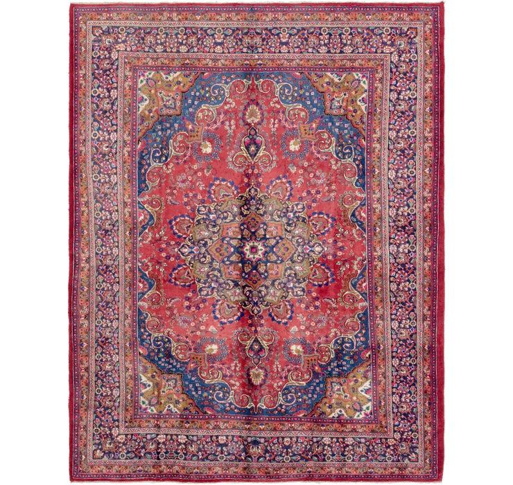 295cm x 390cm Mashad Persian Rug