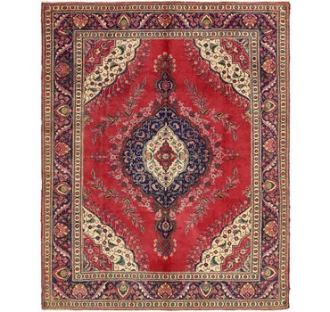 9' 5 x 12' 2 Tabriz Persian Rug main image