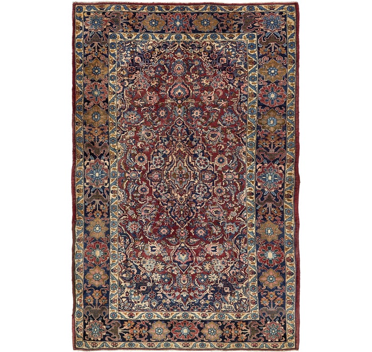 7' x 11' Yazd Persian Rug