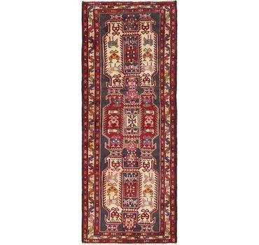 3' 10 x 9' 11 Meshkin Persian Runner Rug main image