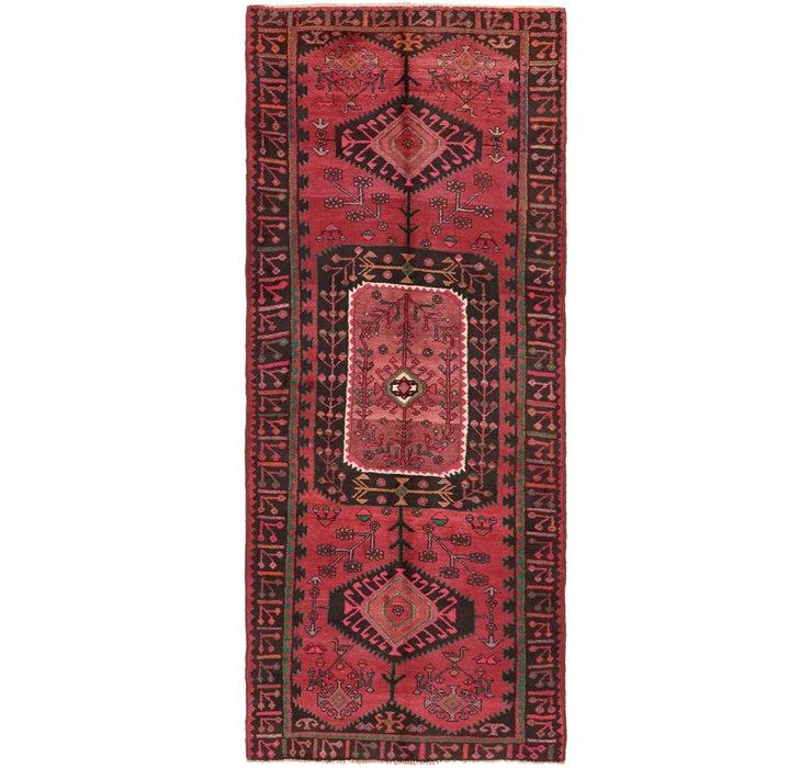 4' 7 x 11' Sirjan Persian Runner Rug