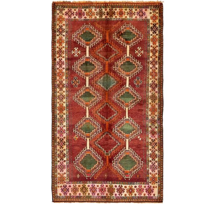 157cm x 282cm Ghashghaei Persian Rug