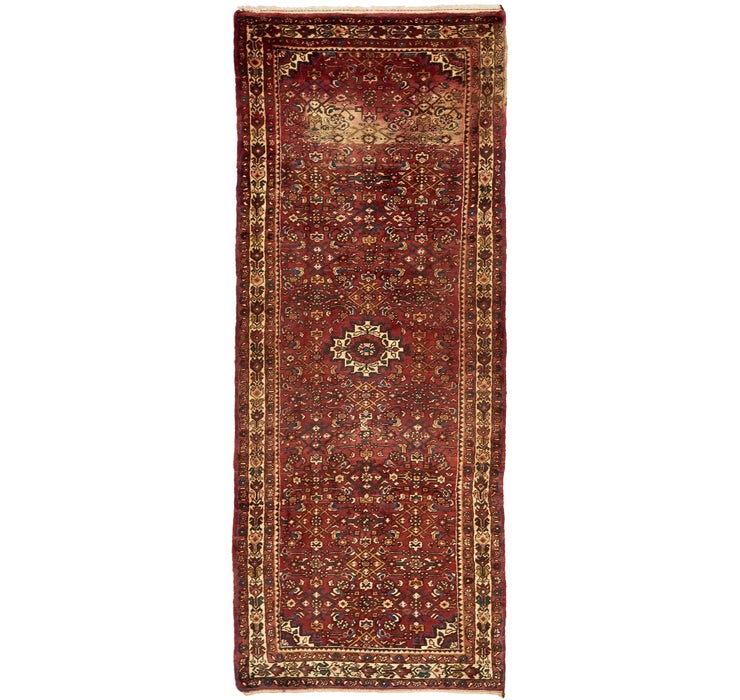 127cm x 320cm Hossainabad Persian Run...