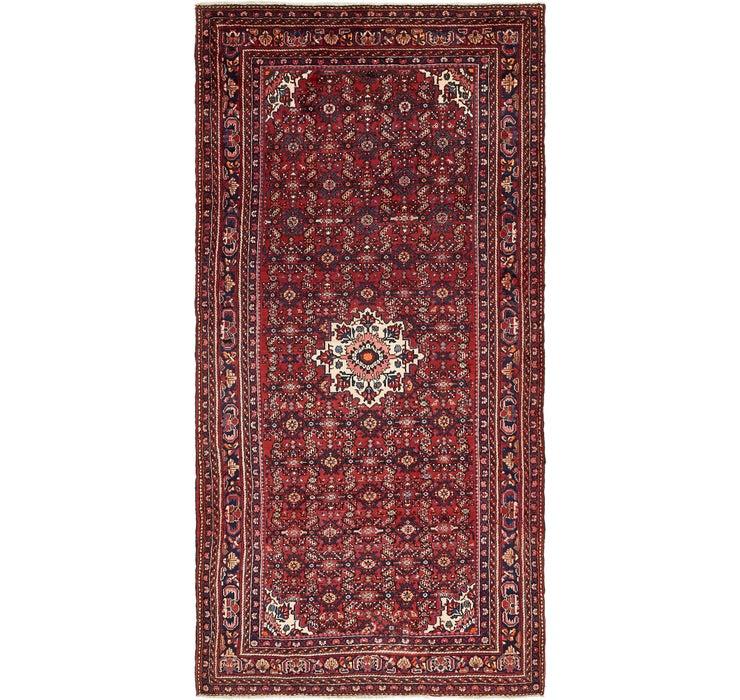 168cm x 330cm Hossainabad Persian Rug