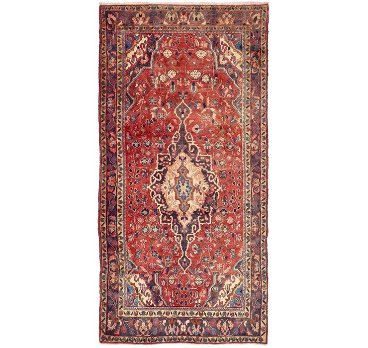 163cm x 323cm Khamseh Persian Rug