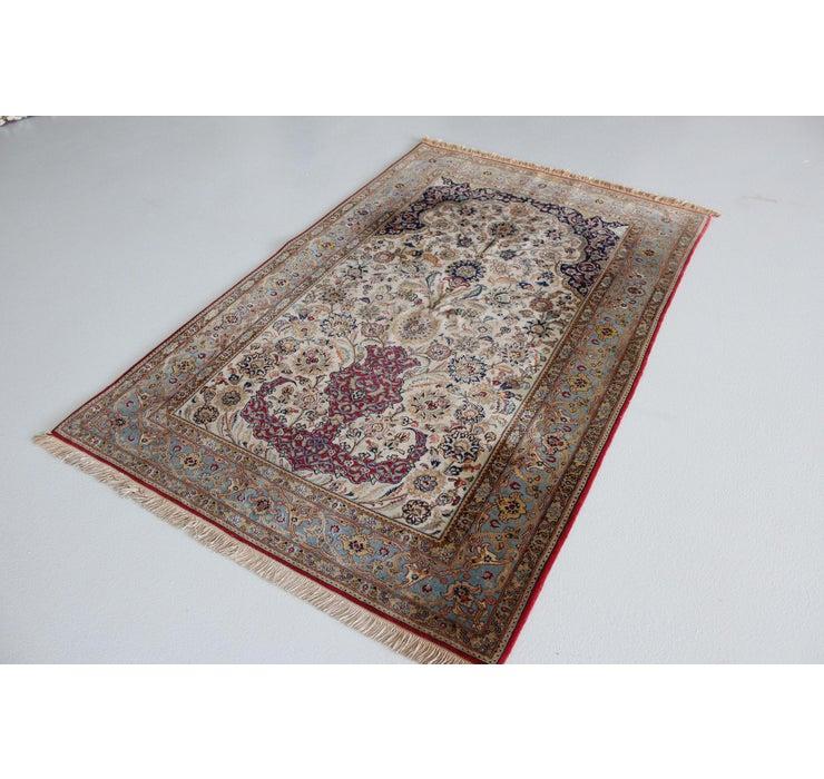 137cm x 215cm Qom Persian Rug