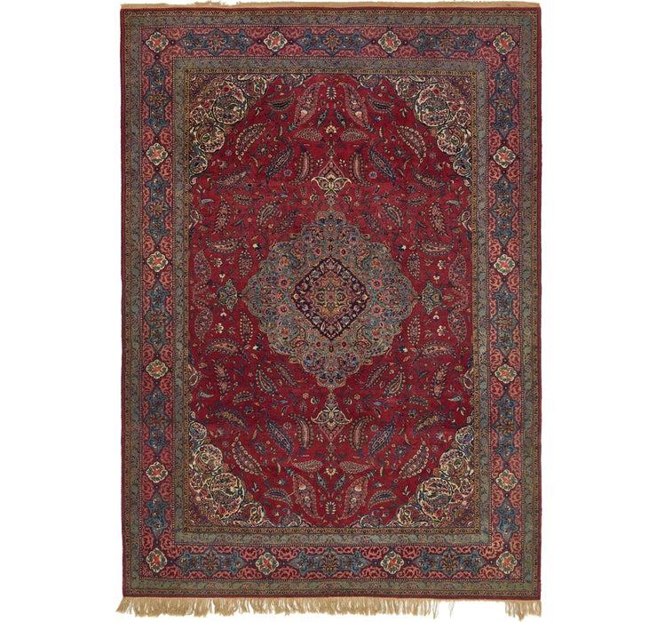 235cm x 323cm Kashan Persian Rug