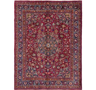 Image of 10' x 13' 4 Mashad Persian Rug