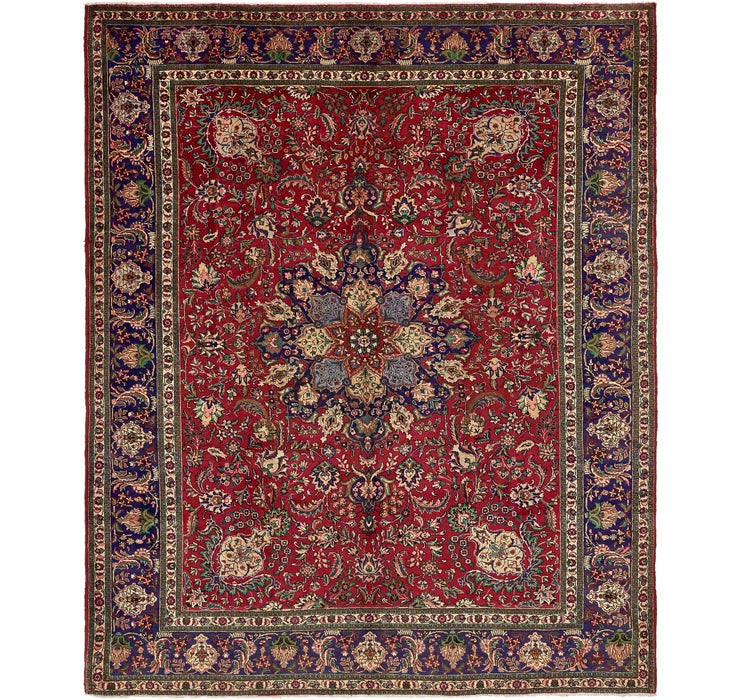 305cm x 373cm Tabriz Persian Rug
