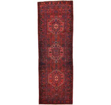 Image of 3' 9 x 10' 10 Zanjan Persian Runner Rug