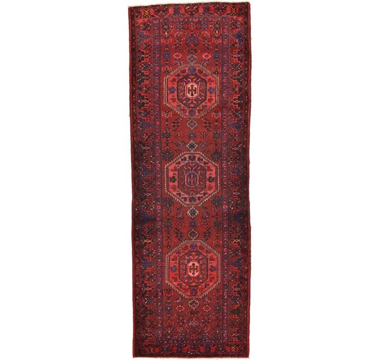 Image of 3' 9 x 10' 10 Zanjan Persian Runner Rug