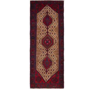 4' x 10' 9 Zanjan Persian Runner Rug