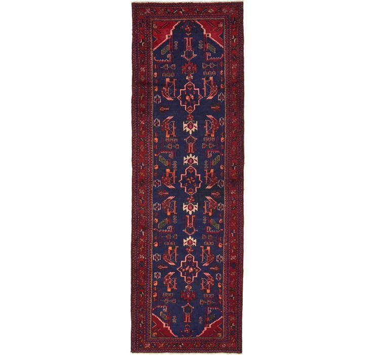 102cm x 310cm Saveh Persian Runner Rug