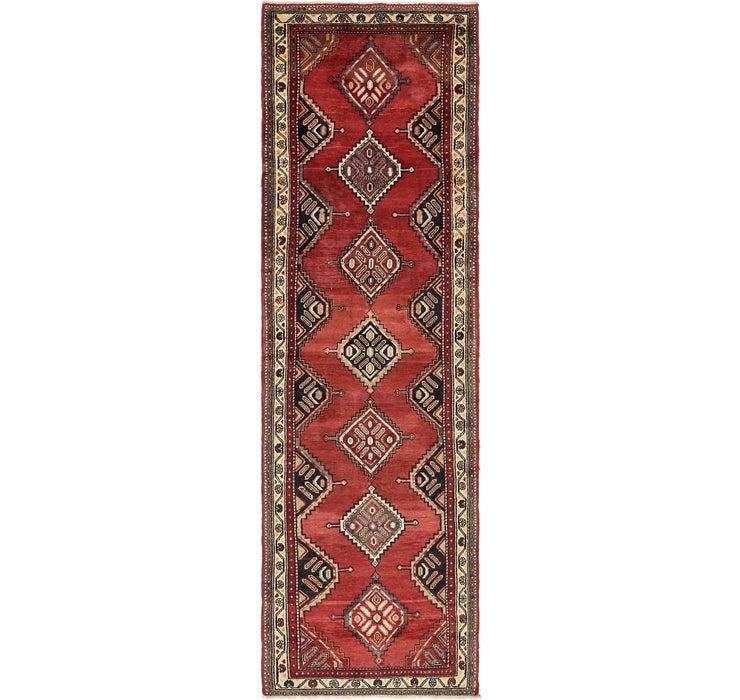 90cm x 318cm Chenar Persian Runner Rug