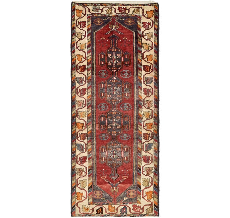 115cm x 277cm Saveh Persian Runner Rug