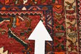 3' 11 x 8' 7 Gholtogh Persian Runner Rug thumbnail
