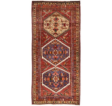 Image of 3' 11 x 8' 7 Gholtogh Persian Runner...