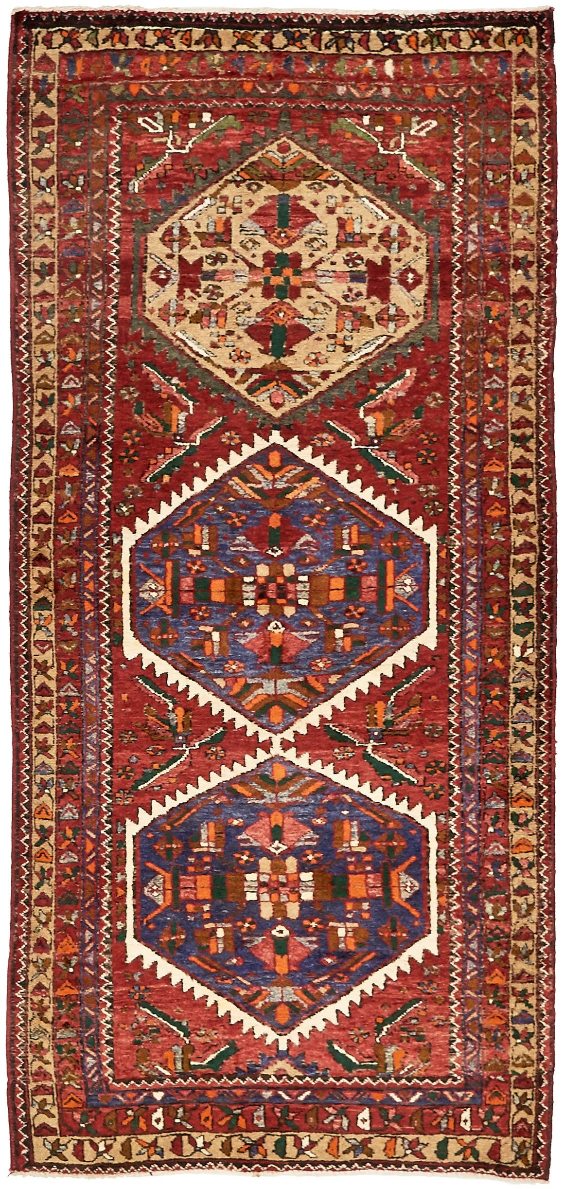 3' 11 x 8' 7 Gholtogh Persian Runner Rug main image