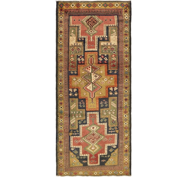 3' 8 x 9' Ardabil Persian Runner ...