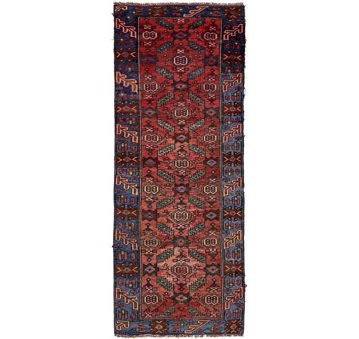 3' 8 x 9' 7 Zanjan Persian Runner Rug