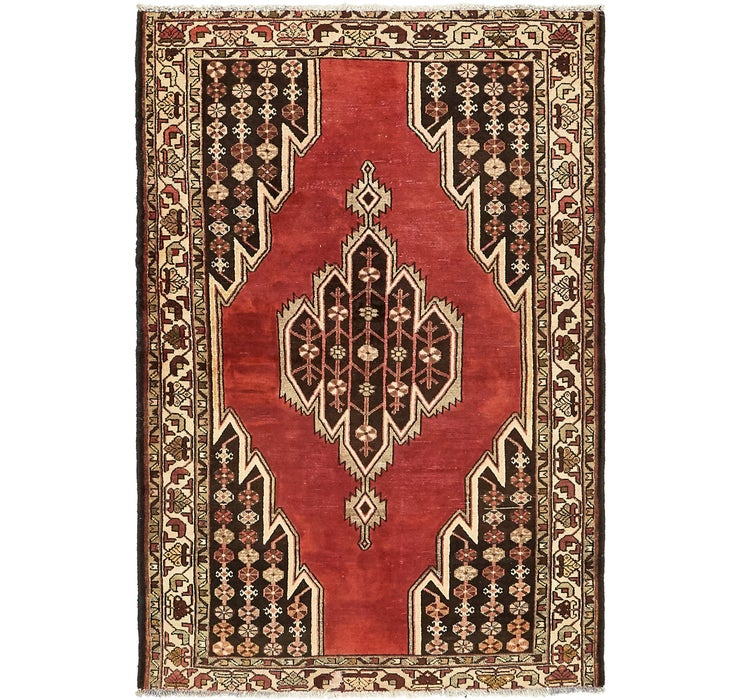 122cm x 190cm Mazlaghan Persian Rug