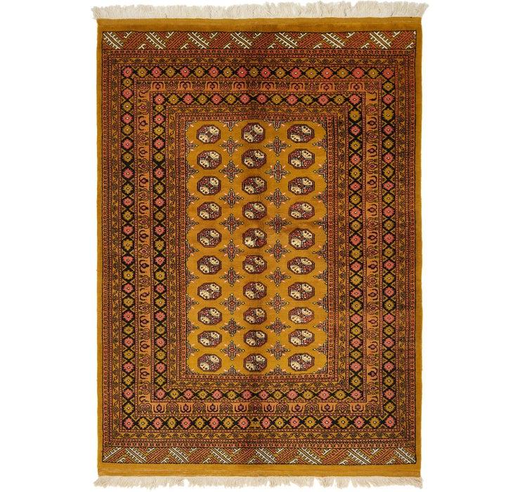 5' 8 x 7' 10 Afghan Akhche Rug