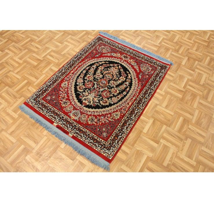 97cm x 140cm Isfahan Persian Rug