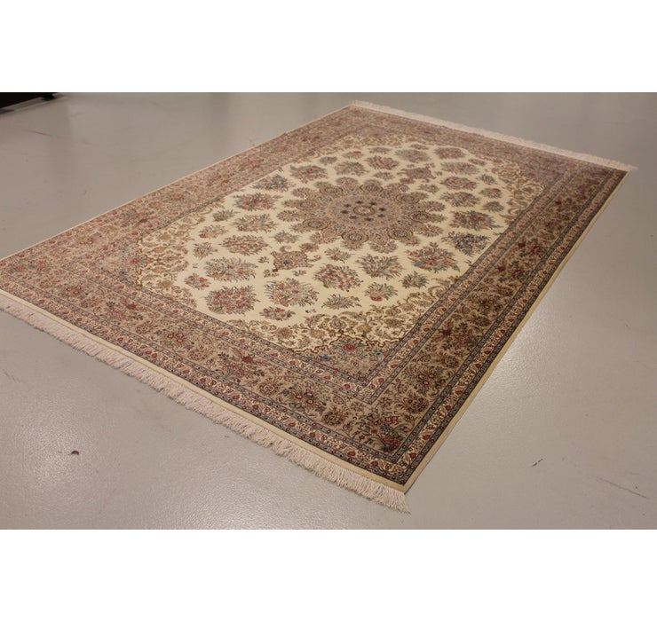Image of 198cm x 300cm Qom Persian Rug