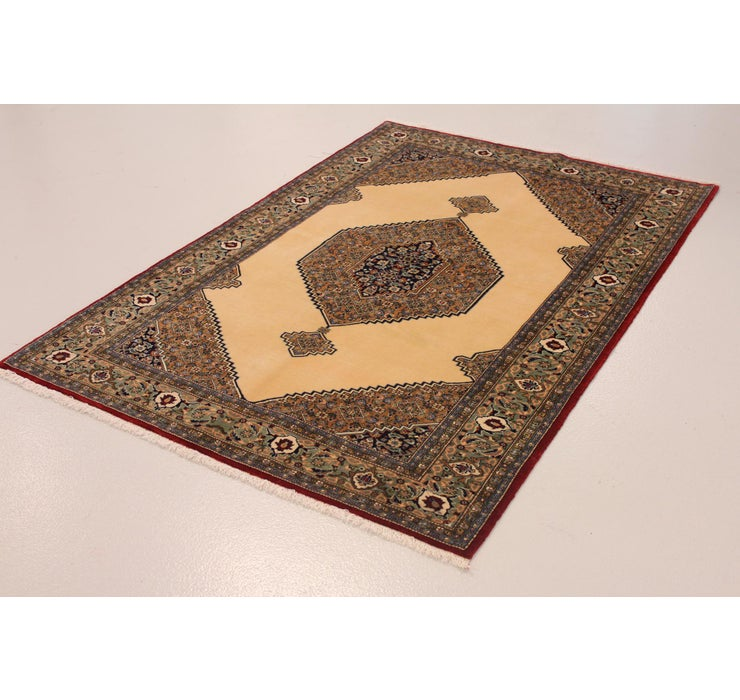 142cm x 205cm Qom Persian Rug