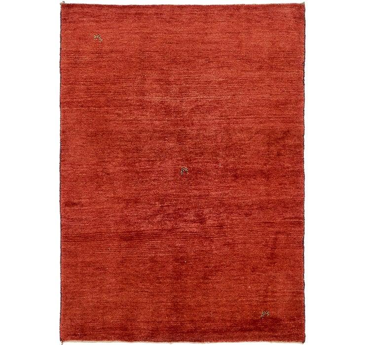 142cm x 193cm Shiraz-Gabbeh Persian Rug
