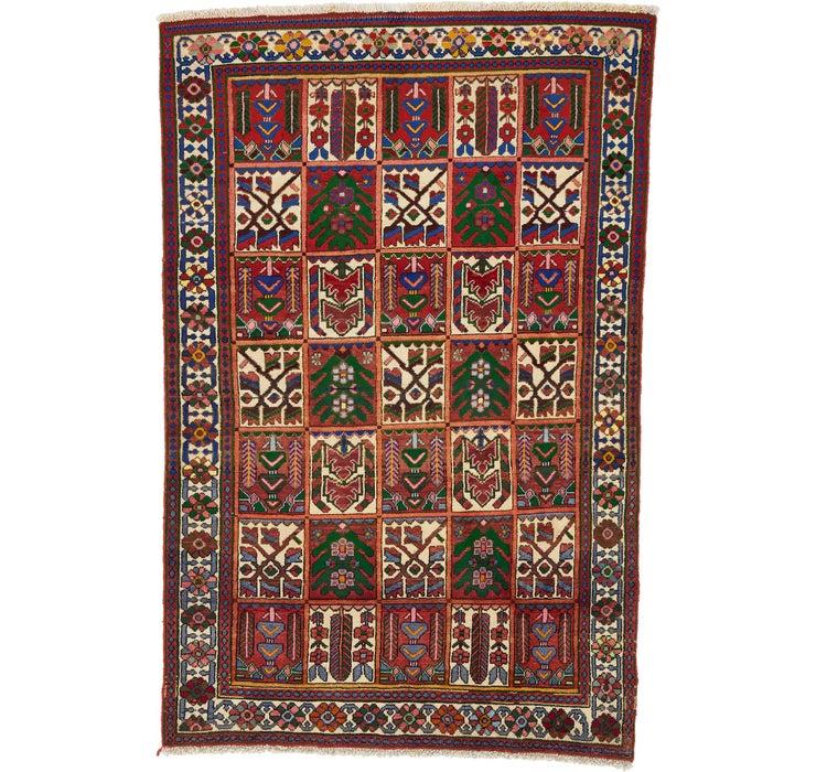 3' 10 x 6' Bakhtiar Persian Rug