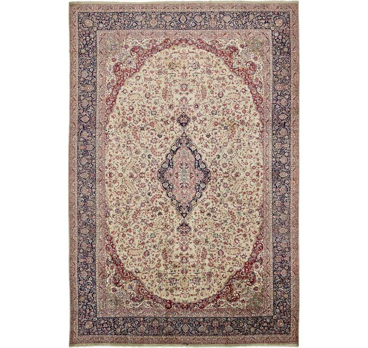 395cm x 585cm Kerman Persian Rug